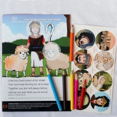 The Shepherd and the King (Before School Age Sticker Story 25 pack)